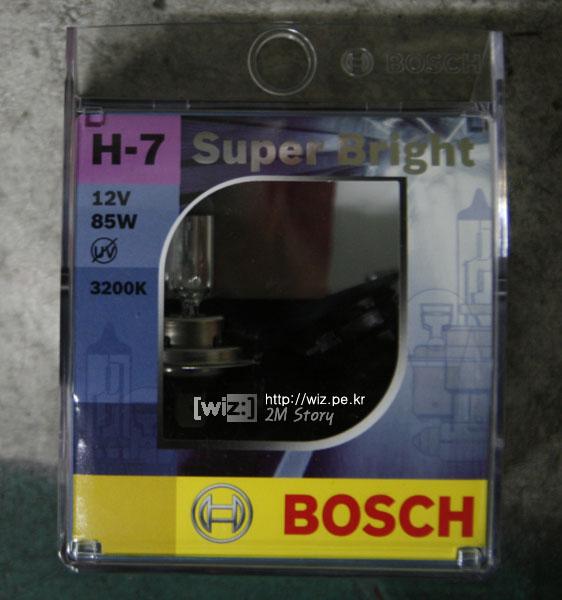 BOCSH ㅗ-7 3200K 전조등