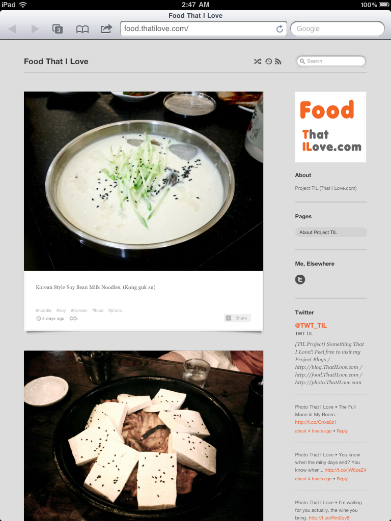 Food.ThatILove.com
