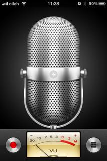 아이폰 녹음 음성 메모
