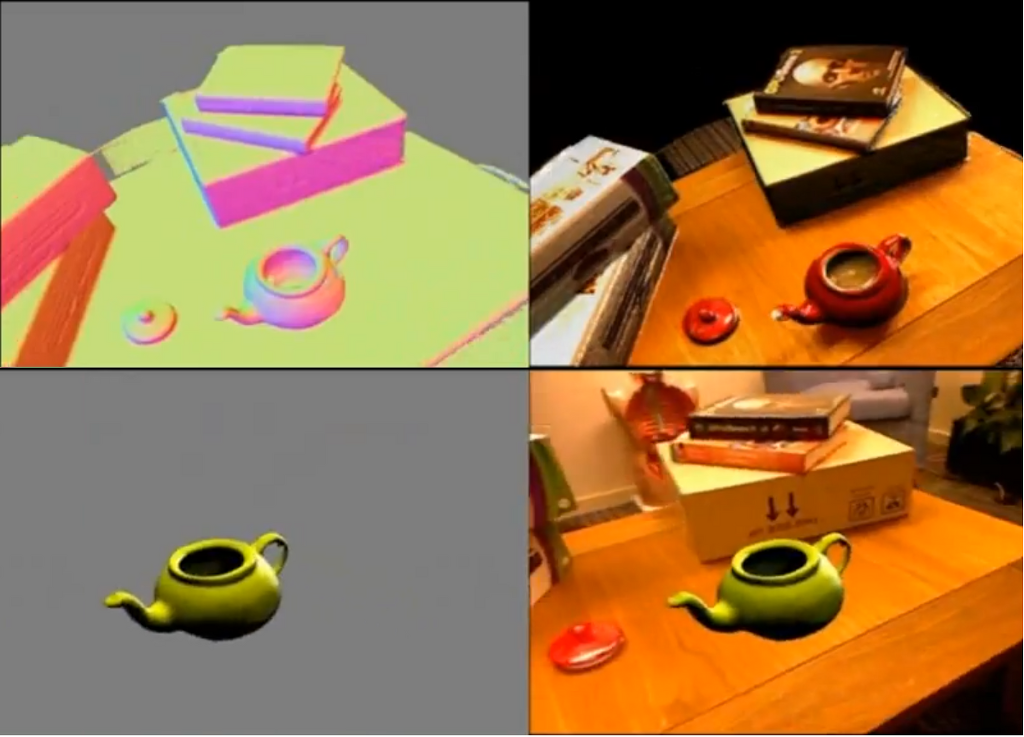 KinectFusion Dynamic Object Recognition