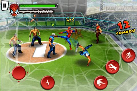 아이폰 게임 Spider-Man Total Mayhem 스파이더맨