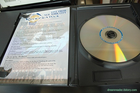 아이리쉬 댄스, 리버 댄스 DVD, 뉴욕 공연 라이브