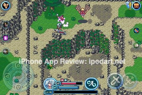아이폰 아이팟터치 RPG 게임 엑시온 Axion
