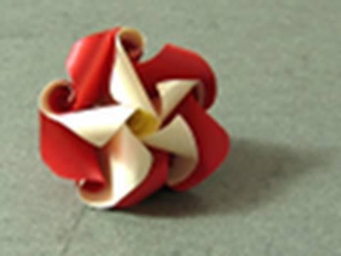 두 가지 색 카네이션 (Krystyna Burczyk) 꽃 어버이날 종이접기 동영상