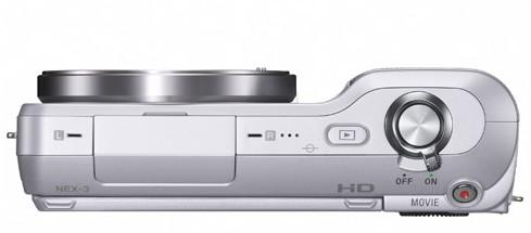 Sony NEX3 윗부분