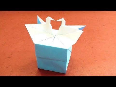 사랑의 학 박스 (Tadashi Mori) 종이 상자 접기 동영상