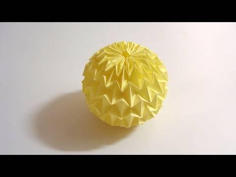 종이공 마술공 종이접기 동영상