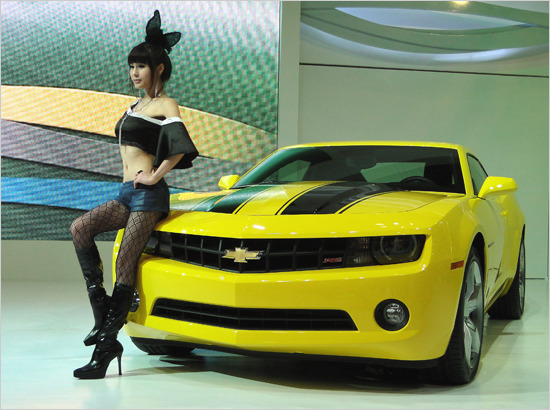 부산국제모터쇼에서 소니, 3D의 스타일을 말하다!!