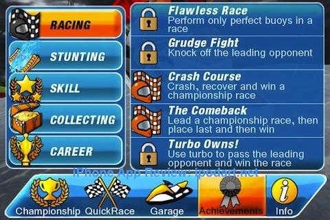 아이폰 게임 아쿠아 모터 레이싱2 Aqua Moto Racing 2