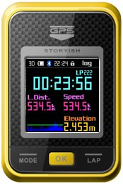 스토리쉬 포켓 GPS S1 (Storyish PocketGPS S1)