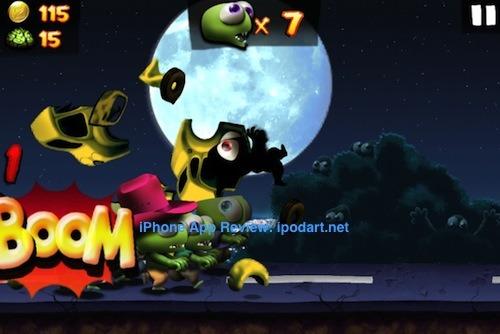 Zombie Tsunami 아이폰 아이패드 게임