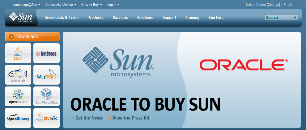 Oracle to buy Sun