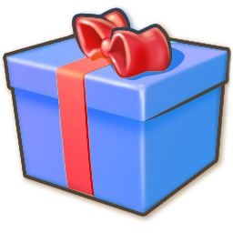 Giftbox blue