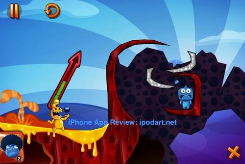 아이폰 게임 퍼즐 몬스터 아이스랜드 Monster Island