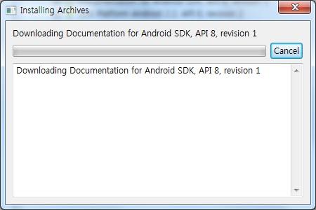 Android 설치 환경을 만들어 보자 _5 안드로이드 SDK