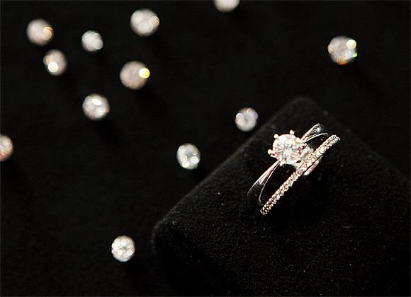 다이아몬드예물구매시가짜와진짜구별법
