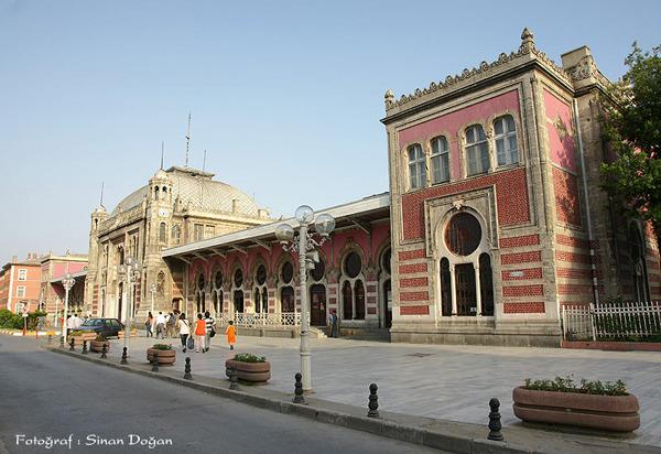 오리엔트 특급 살인의 배경이 된 이스탄불 시르케지 역