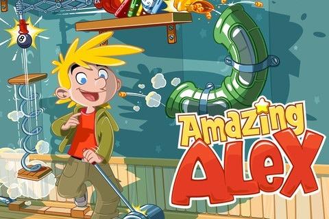 Amazing Alex 어메이징 알렉스 아이폰 아이패드 퍼즐 게임