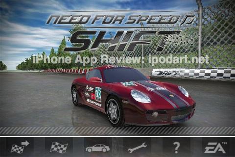 아이폰 레이싱 게임 니드포스피드 쉬프트 Need for Speed Shift
