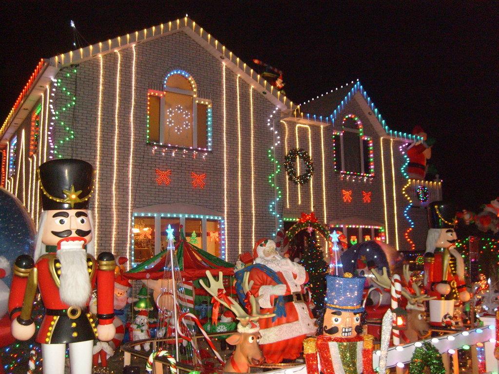 동화속의집 산타하우스 베이사이드 2010 -세계제일 크리스마스장식 /안치용