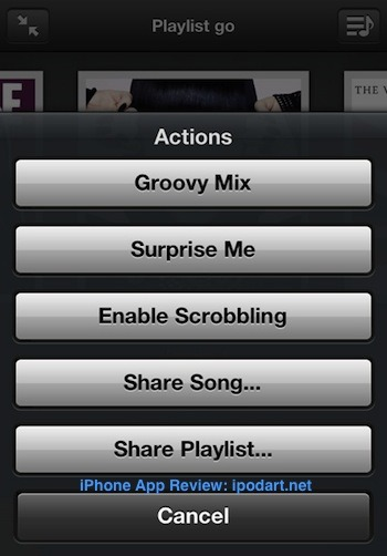 Groove - Smart Music Player for iPhone and iPad 뮤직플레이어 아이팟 아이폰 아이패드