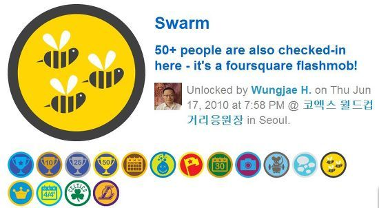 Swarm Badge
