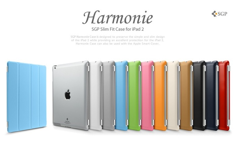 아이패드2 케이스 SGP iPad 2 Hard Case Harmonie Series