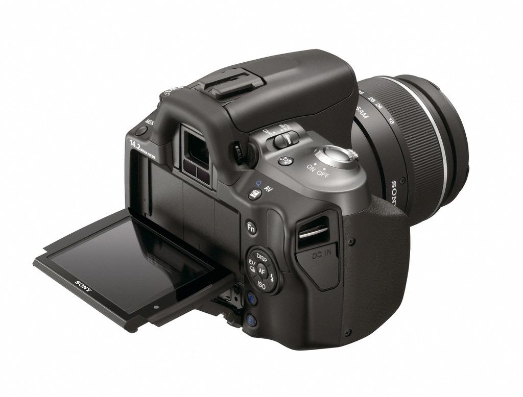 소니 DSLR 알파 380, 330, 230 전격 출시, 프리미엄 스타일리쉬 디자인과 간편한 GUI 탑재한 초소형/초경량 DSLR카메라