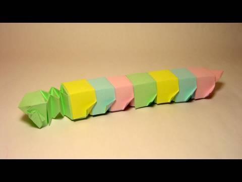 애벌레(Yami Yamauchi) 종이접기 동영상