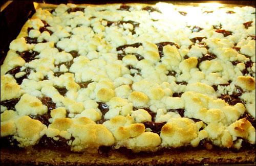 완성된 케이크