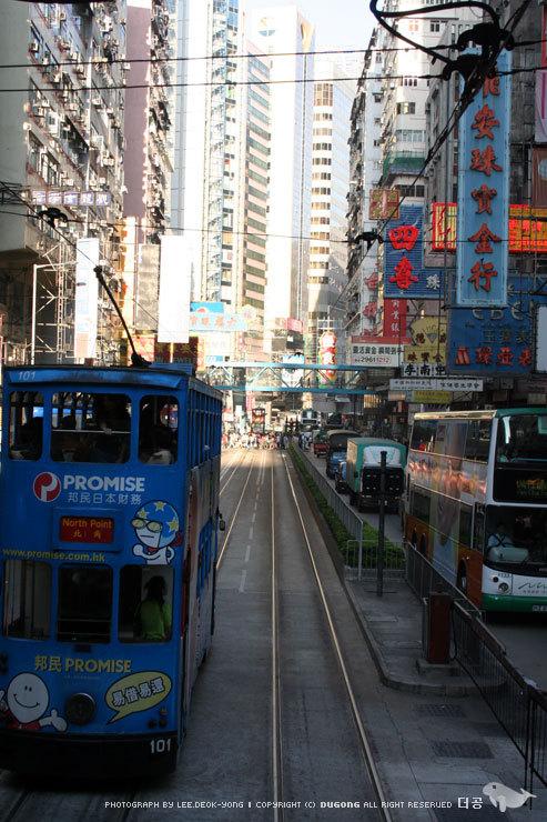 hongkong l tram l photograph L.DY