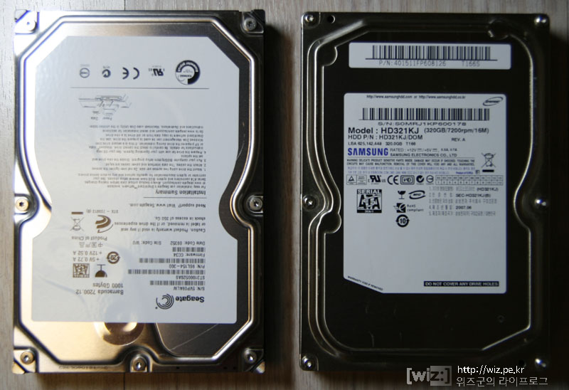 Seagate Barracuda 7200.12 1T HDD 리뷰