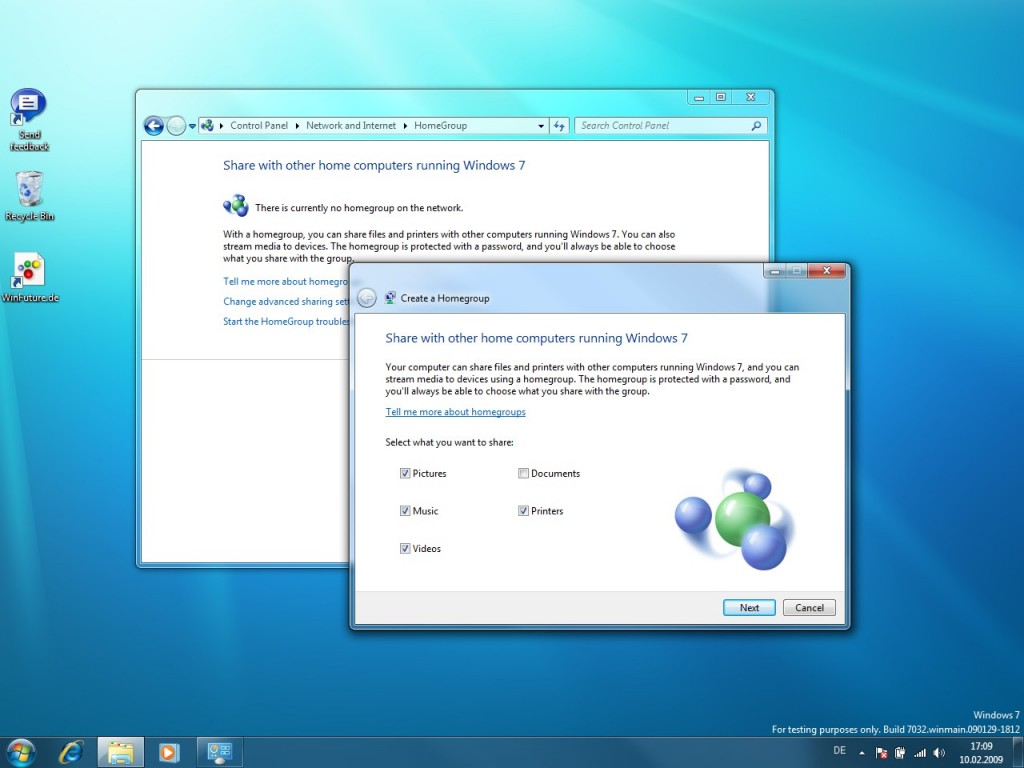 Windows 7 Build 7032 Screenshots 01