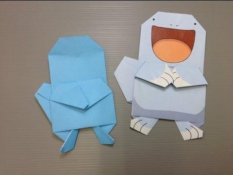 누오 Quagsire (Ryoko Nishida) 포켓몬 종이접기 동영상