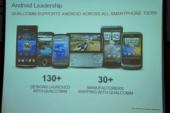 Qualcomm android distribution