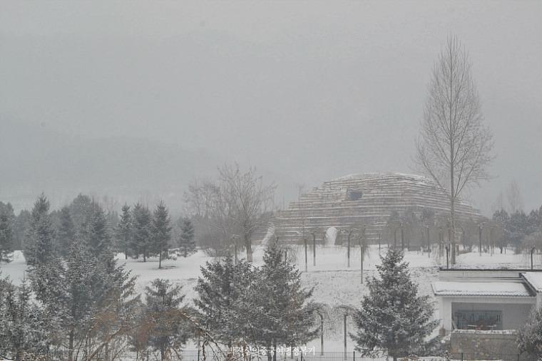눈이 내린 날 집안(集安) 고구려 유적 여행 (길림성 3-1호)