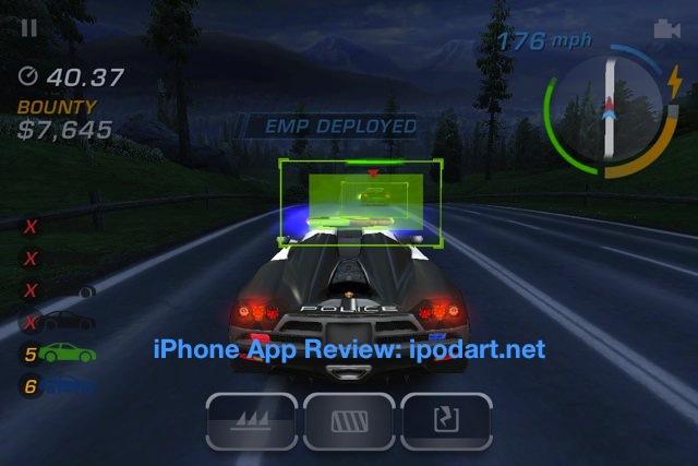 아이폰 레이싱게임 니드포스피드 핫퍼슈트 Need for Speed Hot Pursuit