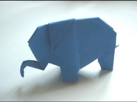 코끼리 종이접기 동영상