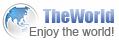 TheWorld 브라우저 로고