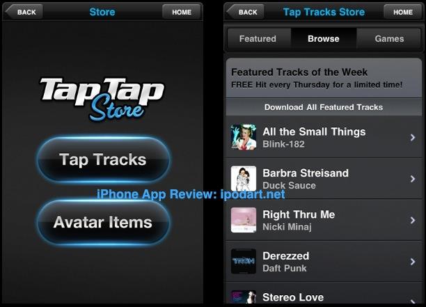아이폰 리듬게임 탭탭리벤지4 Tap Tap Revenge 4