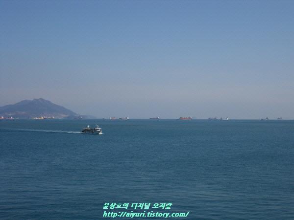 여수 오동도 바다