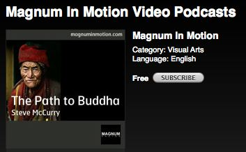 추천 팟캐스트 Magnum in Motion Vidio Podcast