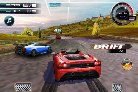 아이팟터치 아이폰 자동차 경주 게임 아스팔트 5 asphalt5