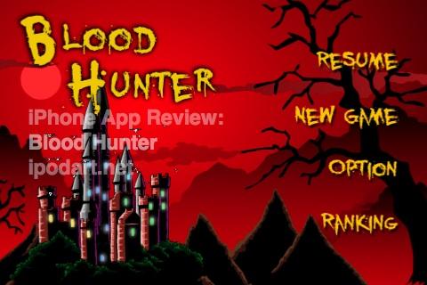 아이폰 게임 블러드 헌터 - Blood Hunter