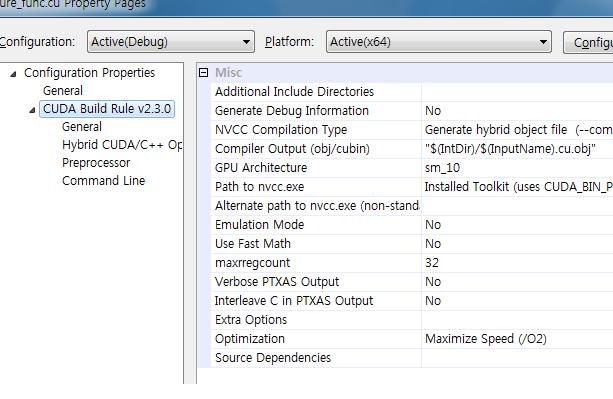날개의 기억 :: CUDA 2 3 Build Environment Setup