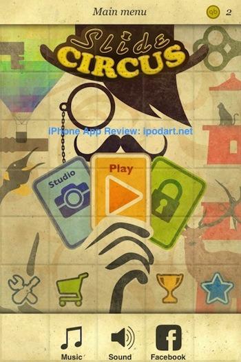 Slide Circus 아이폰 추천 퍼즐 게임
