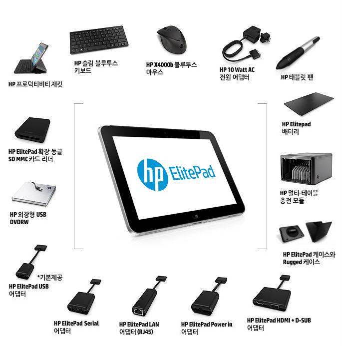 HP 엘리트패드 900 악세사리
