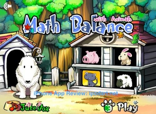 아이패드 동물들과 함께하는 수개념 저울 HD - Math Balance with Animals for Kids