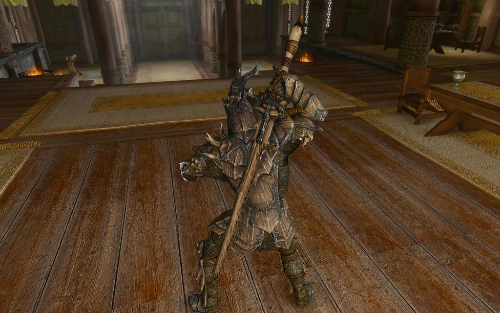 skyrim mod dragon bone weapon pack