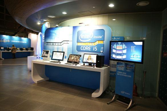 인텔 2세대 코어 프로세서 발표회